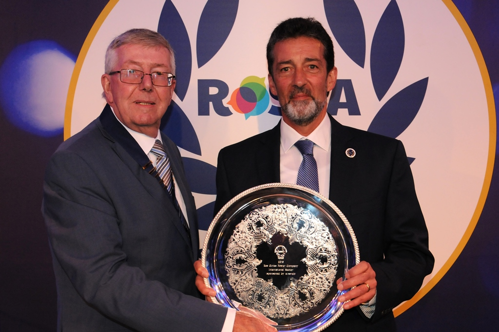 ROSPA INTERNATIONAL SECTOR AWARD 2018 PRESENTED TO COO