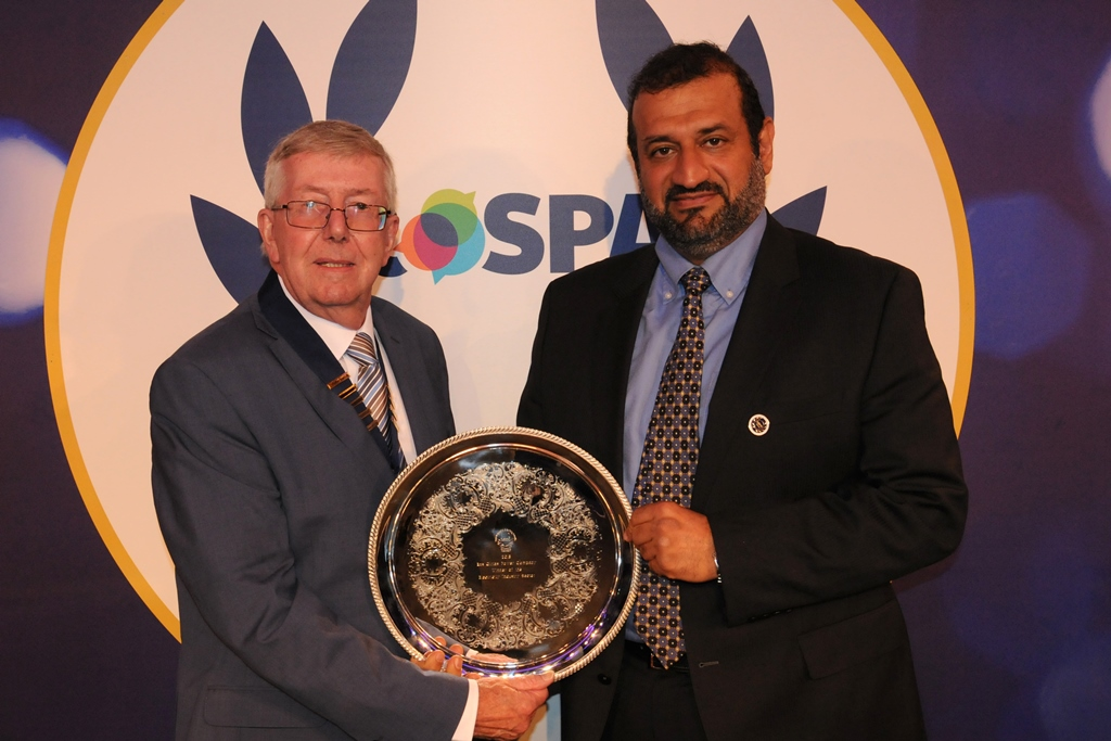 ROSPA ELECTRICITY SECTOR AWARD 2018 PRESENTED TO RGPC CEO